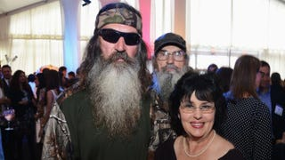 Phil Robertson and Miss Kay Robertson attend A&E Networks 2012 Upfront at Lincoln Center on May 9, 2012, in New York City.Jason Kempin/Getty Images for A&E Networks