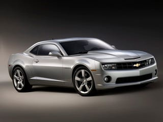 Illustration for article titled 2010 Chevy Camaro SS, Officially Unveiled...Sort Of