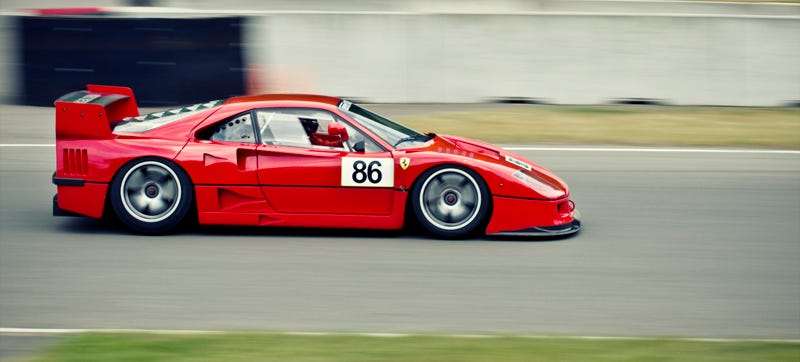 Illustration for article titled Spend Three Minutes Listening To A Ferrari F40 At Speed