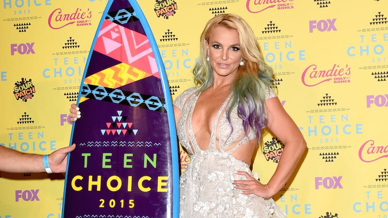 Illustration for article titled Teen Choice Awards: Britney Spears Hasn't Been A Teen For A While