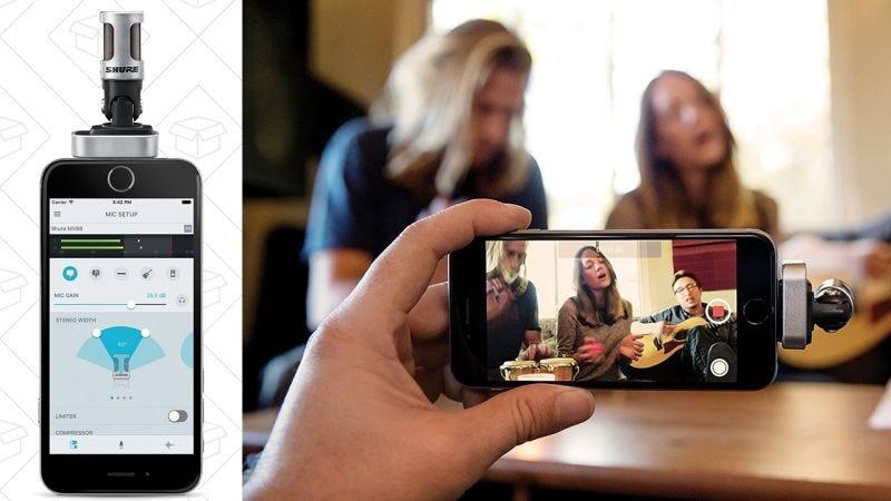 Micrófono de condensador Shure iOS | $115 | Amazon | Usa el código KINJAWWKGráfico: Shep McAllister