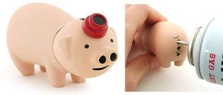 Illustration for article titled Light 'Em Up With This Pig Lighter