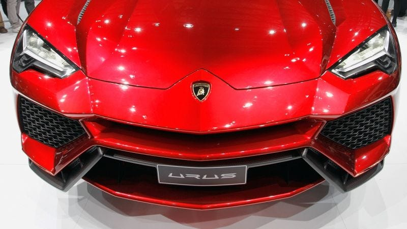 2018 lamborghini suv. contemporary suv now lamborghini is gearing up to introduce its third model the world in  form of a big fast allwheeldrive u201csportu201d suv  throughout 2018 lamborghini suv