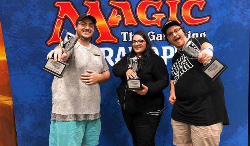 Illustration for article titled Jessica Estephan Becomes First Woman To Win A Magic: The Gathering Grand Prix