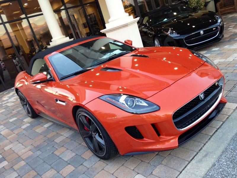 Illustration for article titled Jaguar F-Type S
