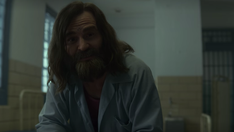 Illustration for article titled Charles Manson makes his Mindhunter debut, and (almost) everyone is stoked
