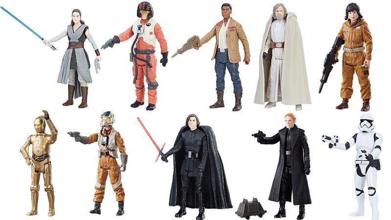 Star Wars Black Series Episode VIII The Last Jedi 6 Admiral Ackbar /& First Order Officer 2-pack Exclusive figures