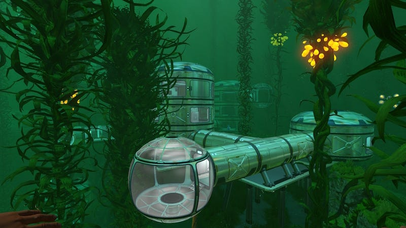 Player made subnautica base is extremely impressive base building in single player games can be a lonely job you deck out a massive palace only to wander its empty halls admiring your own handiwork malvernweather Images