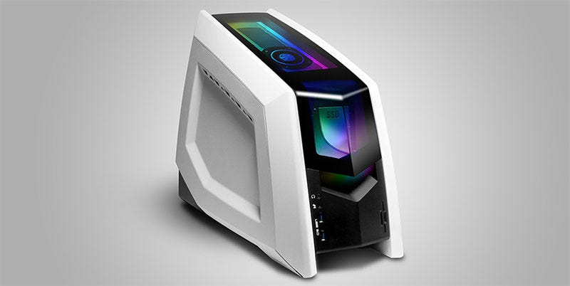Illustration for article titled The Revolt 2 Gaming PC Wears Its Graphics Card Like A Pretty Hat