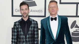 Ryan Lewis and Macklemore at the 56th Annual Grammy Awards at Staples Center, on Jan. 26, 2014, in Los AngelesJason Merritt/Getty Images