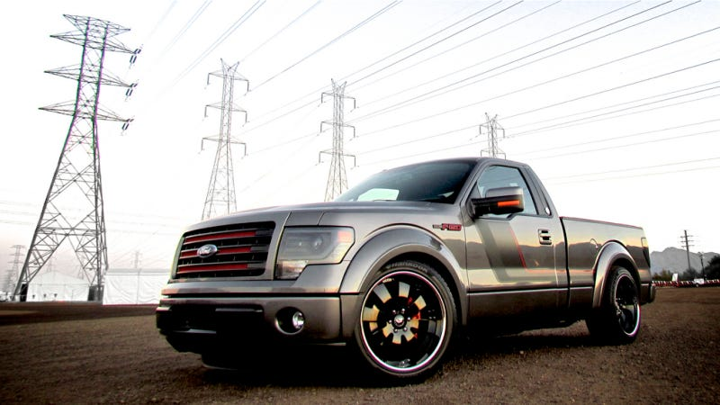 Illustration for article titled Tuner-Built Ford F-150 Tremor Street Truck