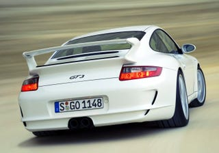 Illustration for article titled Porsche 911 GT3 to get paddle shifters