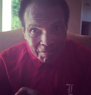 Muhammad Ali's first selfieMuhammad Ali Instagram