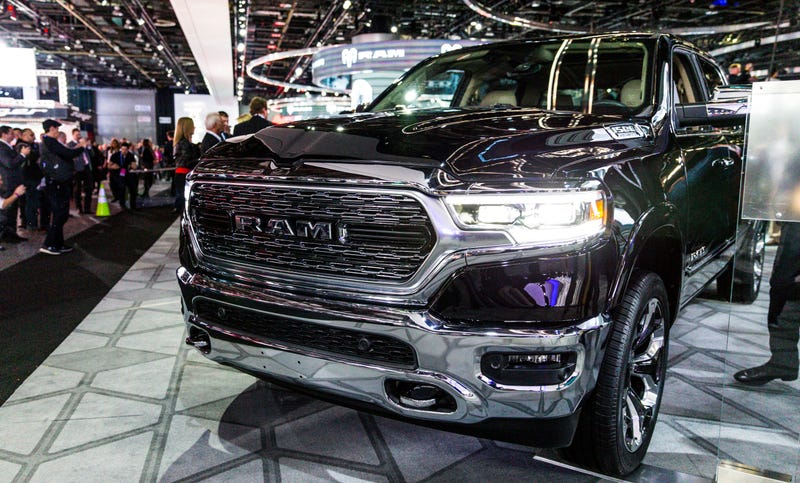 The 2019 Ram 1500 Gets Hybrid Tech And An Insane 12 Inch Touchscreen