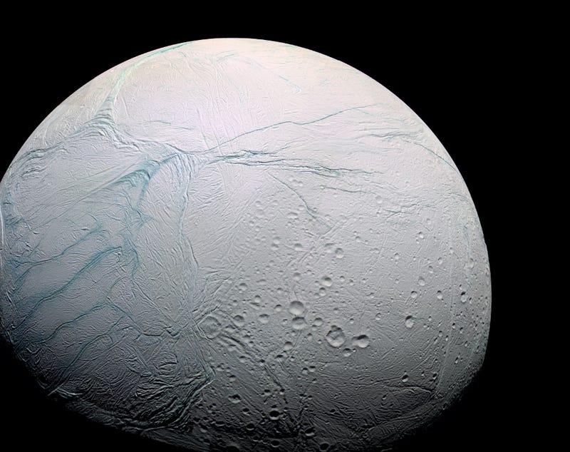 Illustration for article titled We've Found A Hidden Ocean On Enceladus That May Harbor Life