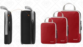 Organizadores de viaje Gonex | $13 | Amazon | Usa el código ABPATFE5