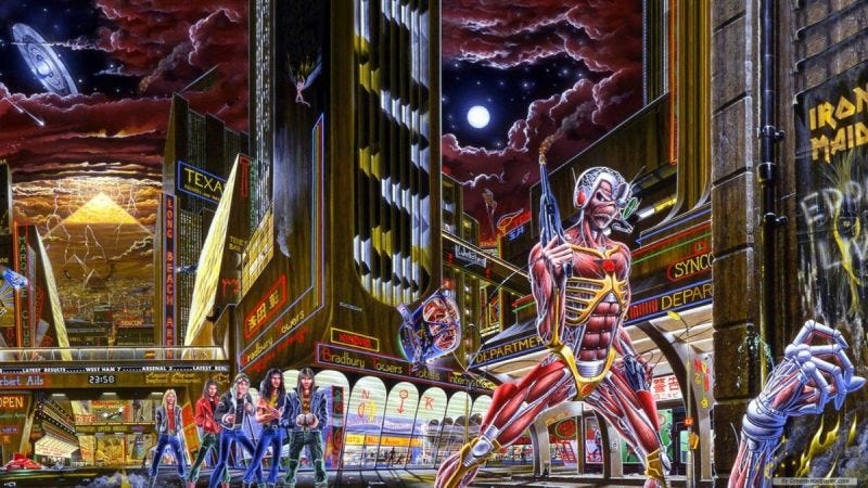 Illustration for article titled Iron Maiden está demandando al videojuego Ion Maiden