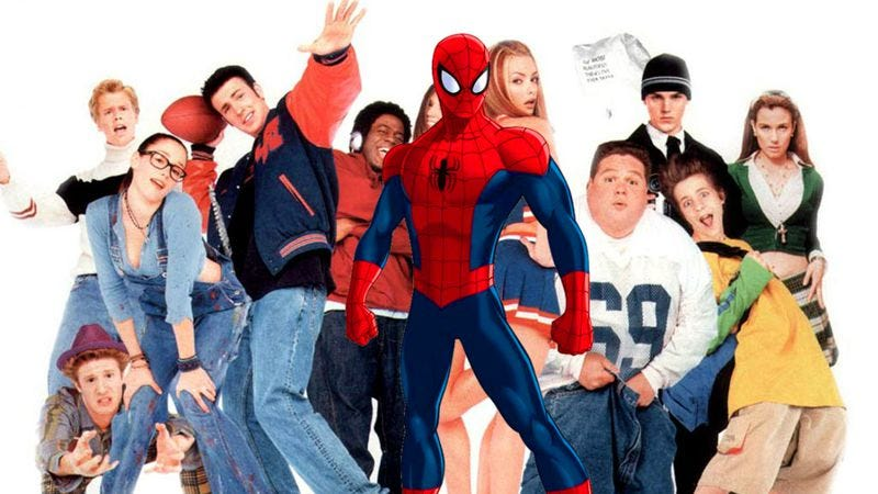 Spider-Man: Coming Of Age Movie (co-starring Chris Evans!)