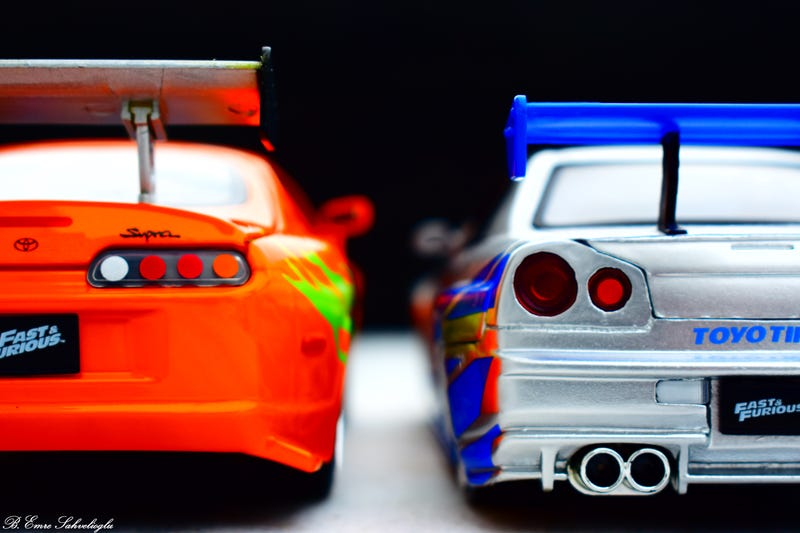 Illustration for article titled Fast & Furious Supra and Skyline