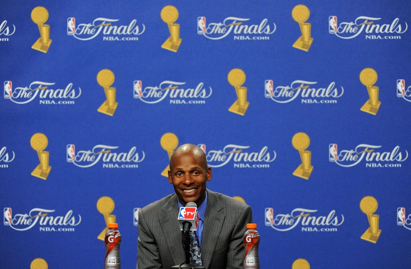 "Illustration for article titled Ray Allen Calls Post-Game Interviews ""Therapeutic,"" Secures His Place As Media's Darling"