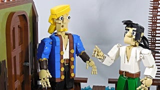 Illustration for article titled Memorable Monkey Island 2 Scene Rebuilt with LEGO