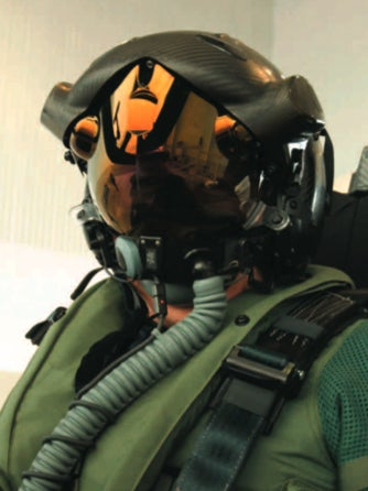 Illustration for article titled F-35 Helmet Display System To Scare the Bejeezus Out of Enemies