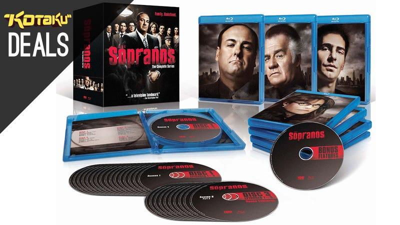 Illustration for article titled The Sopranos Hits Blu-ray, Ken Burns Docs, Cowboy Bebop [Deals]