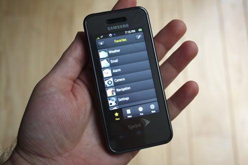 samsung instinct review best sprint or samsung phone ever rh gizmodo com Samsung Instinct S30 All Samsung Phones