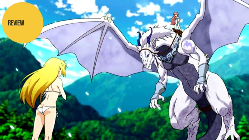 Illustration for article titled Dragonar Academy is Fanservice Schlock ...But it Has Dragons, You Guys