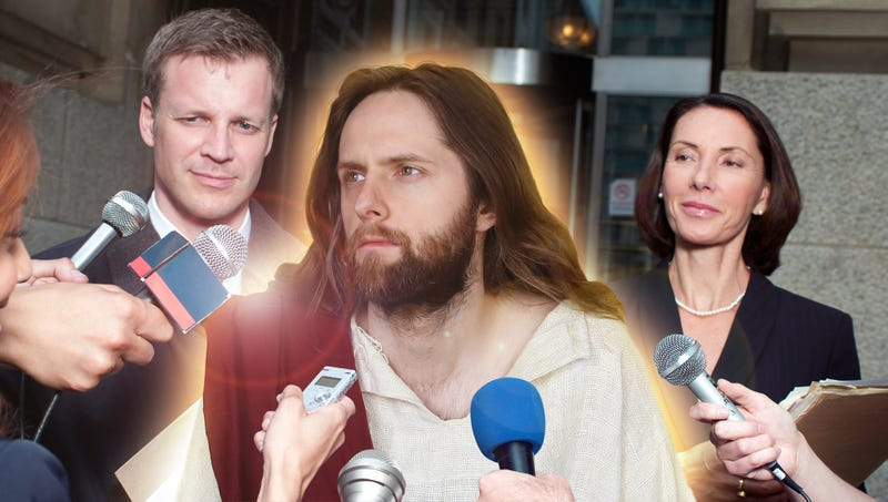 Illustration for article titled Christ Sues Catholic Church For Unlicensed Use Of His Image