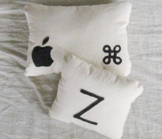 Illustration for article titled Cmd + Z Mac Pillows Won't Actually Undo Last Night