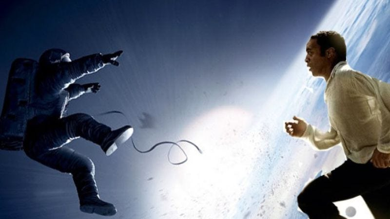 Illustration for article titled The Producers Guild couldn't decide between 12 Years A Slave and Gravity either