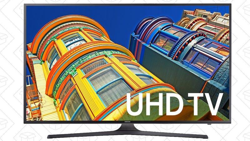 """Samsung UN70KU6300 70"""" 4K TV, $1500"""