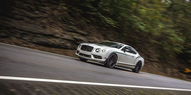 Illustration for article titled The Bentley Continental GT3-R Is Something The Original Bentley Boys Would Be Proud Of