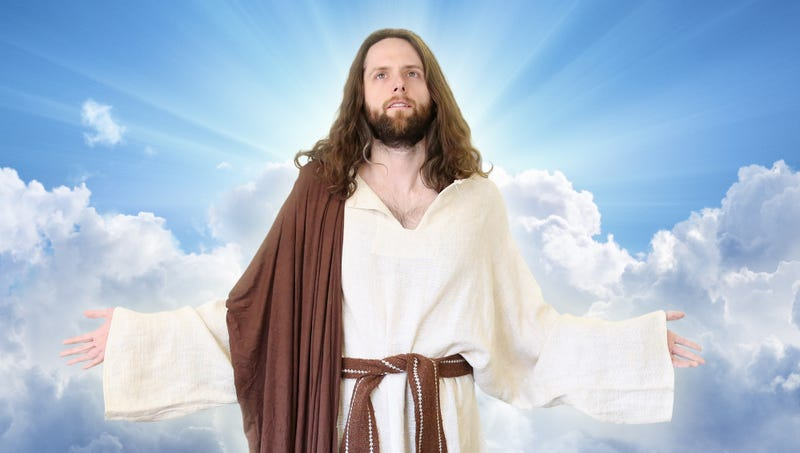 Illustration for article titled Jesus Announces Plans To Return Once The Dow Clears 27,000