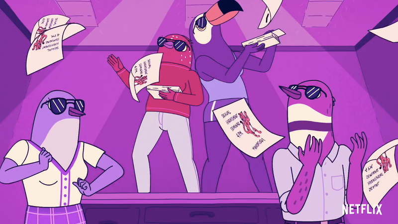 The Creators of BoJack Horseman Are Taking Flight with Tuca & Bertie