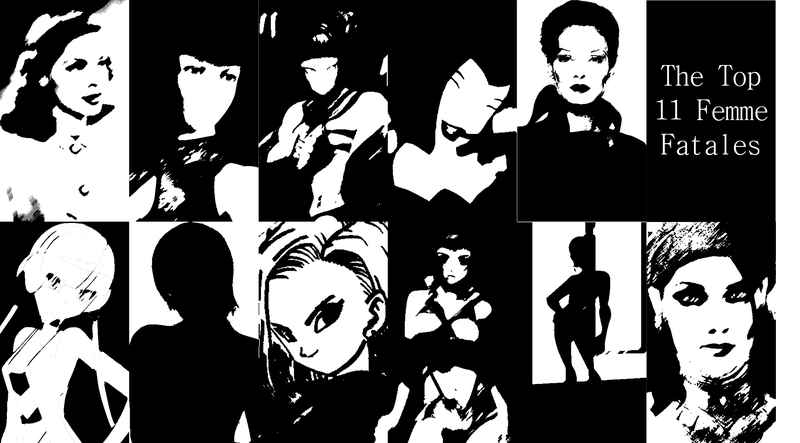 Illustration for article titled The Top 11 Femme Fatales In Fiction