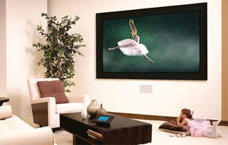 Illustration for article titled Optoma HDBV3100 Bigvizion: 100 Inches, In-Wall