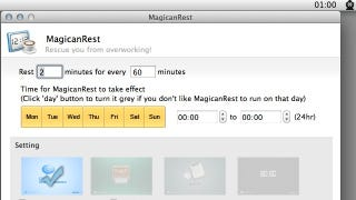 Illustration for article titled MagicanRest Makes Scheduling Breaks a Breeze