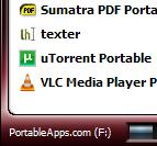 Illustration for article titled PortableApps.com Suite 1.5 Improves Menu Looks, Customization