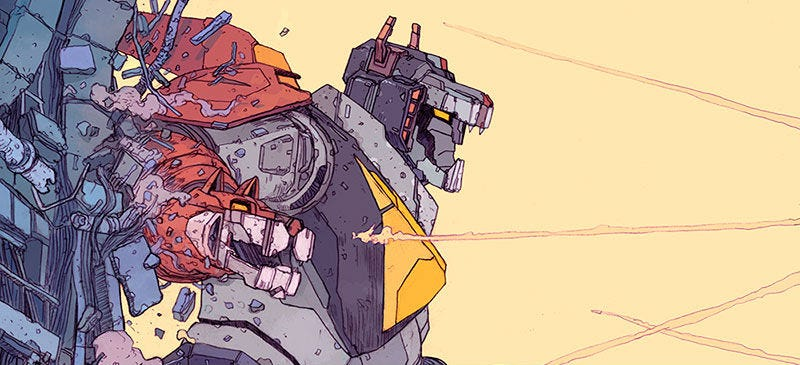 Part of a piece by Josan Gonzalez, which is in the Voltron Legendary Defender Art Showcase. All Images: Dreamworks