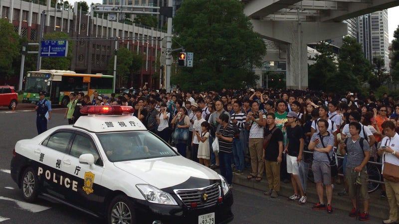 Se alborotan en Tokio por un Lapras — Pokémon Go