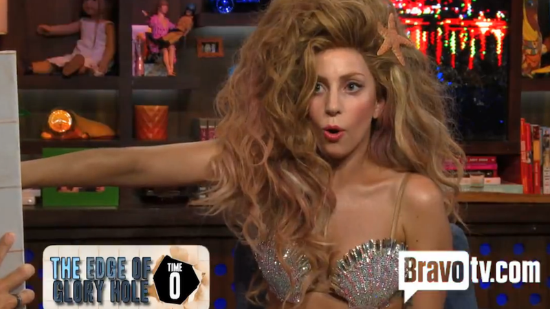 Illustration for article titled Lady Gaga Was Awesomely Shitfaced on Watch What Happens Live