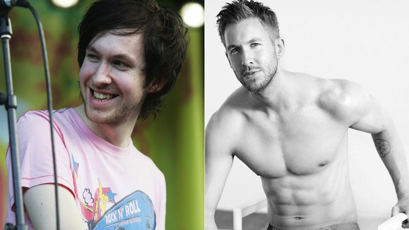 Illustration for article titled Before & After: Calvin Harris and His Dick Print Have Come a Long Way