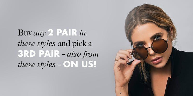 B2G1 Select Privé Revaux Sunglasses | Privé Revaux | Promo code GIZMODO3FOR2All Privé Revaux Styles | $24 | Amazon | Promo code PRIVER20