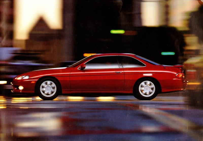 Illustration for article titled Decent Quality Photos of the Lexus SC400