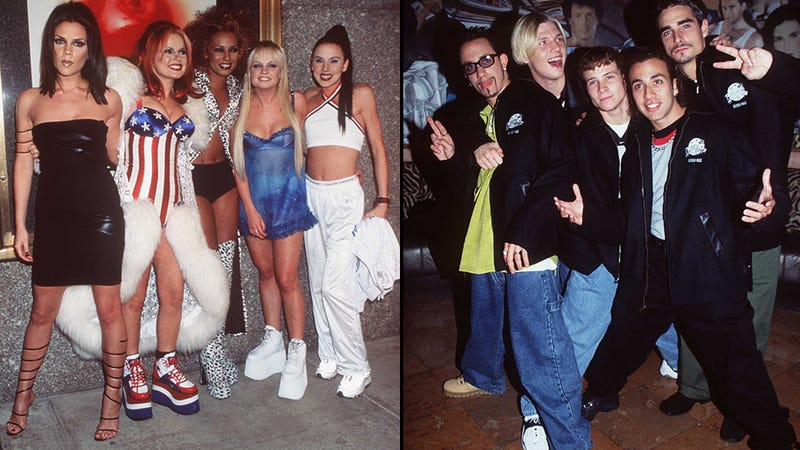 The 90s Gods Might Gift Us A Spice Girls Backstreet Boys Tour
