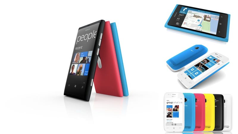 Illustration for article titled These Are Nokia's Hot New Windows Phones (Updated: Hands On)