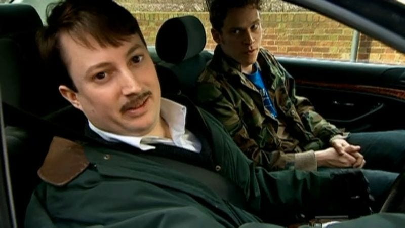 """Illustration for article titled Peep Show: """"On The Pull"""" / """"Mark Makes A Friend"""""""