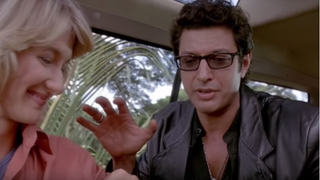 Illustration for article titled Jeff Goldblum was almost written out of Jurassic Park, until life found a way